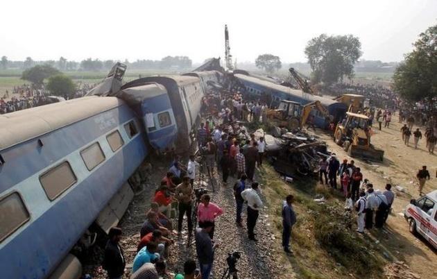 خروج قطار از ریل