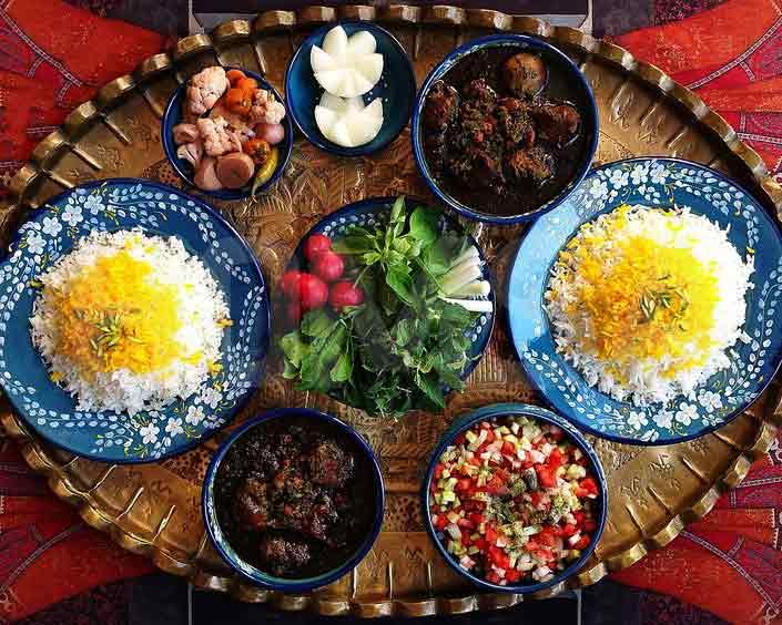 غذاهای معروف شهرهای ایران