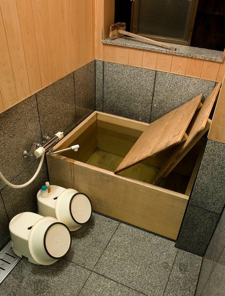 حمام ژاپن