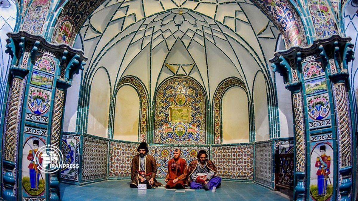 حمام چهار فصل، یک نمونه بینظیر معماری ایرانی