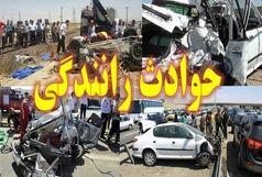 4 کشته و 5 مجروح در تصادف با کامیون
