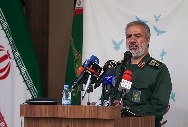 هشدار سردار فدوی نسبت به هرگونه تجاوز نظامی به ایران