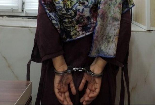 بازداشت یک زن به اتهام انتشار تصاویر غیر اخلاقی
