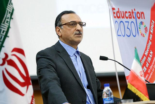 ظرفیت بالای آموزش و پرورش برای مشارکت در طرح های ملی و بین المللی