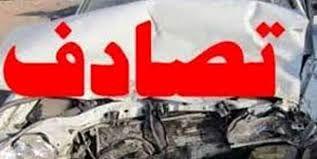 تصادف خودروی حامل زائران اربعین حسینی