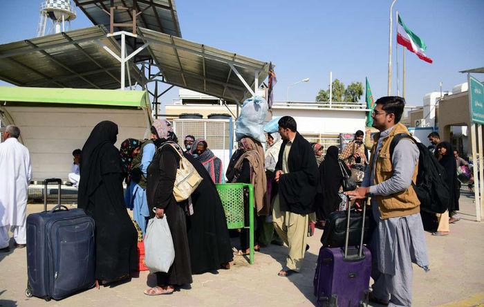 نخستین کاروان پیاده اربعین از پاکستان وارد سیستان و بلوچستان شد