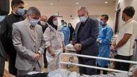 وزیر بهداشت درمان و آموزش پزشکی وارد ارومیه شد
