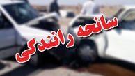 واژگونی هولناک پژو ۲۰۶ در جاده علویجه- اصفهان