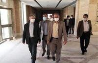بازدید وزیر فرهنگ و ارشاد اسلامی از فاز 2 مجتمع امام علی (ع) یزد