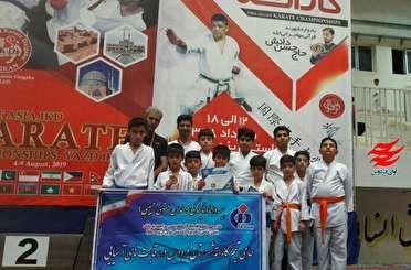 9 مدال رقابت های قهرمانی آسیا بر گردن کاراته کاهای فردوس و طبس