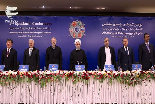 بیانیه پایانی کنفرانس رئیسان مجالس شش کشور/تاکید بر هم افزایی برای مقابله با تروریسم