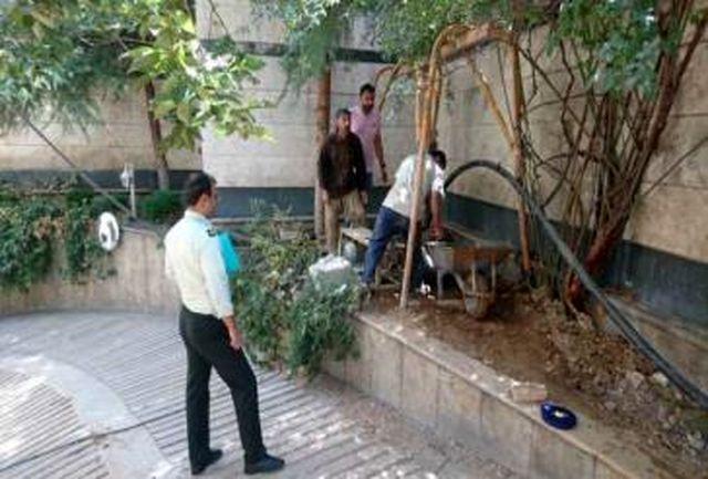 جلوگیری از تجاوز به حریم رودخانه ها و انسداد چاه های غیرمجاز