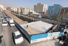 گشایش جبهه های کاری جدید در پروژه احداث تونل- زیرگذر استادمعین