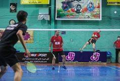 سومین پیروزی پیاپی بدمینتونبازان قم در لیگ برتر
