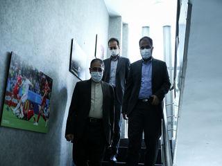 حضور قاسم احمدی لاشکی در خبرگزاری برنا