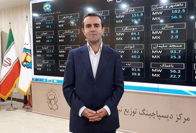 کسب 2 رتبه اول و تندیس کشوری شرکت توزیع نیروی برق خوزستان در کاهش تلفات و خدمات غیر حضوری