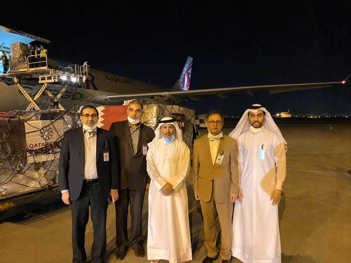 ورود دومین محموله کمکهای دولت قطر به ایران برای مقابله با کرونا به تهران