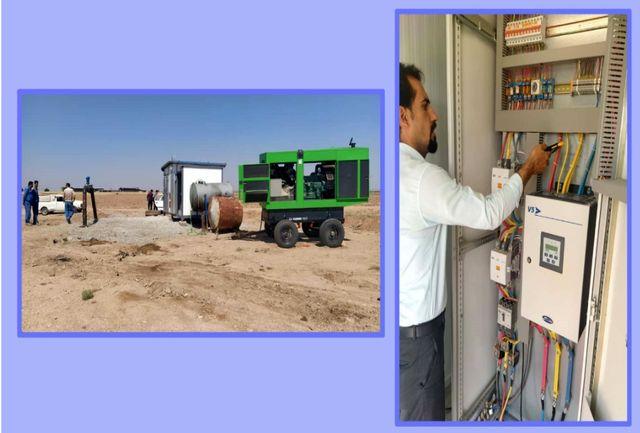 کمبود آب آشامیدنی شهر دانسفهان از توابع شهرستان بویین زهرا رفع شد