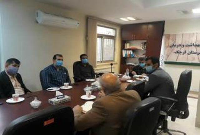 پیگیری مشکلات صنف نانوایان و قنادان در شهرستان قرچک