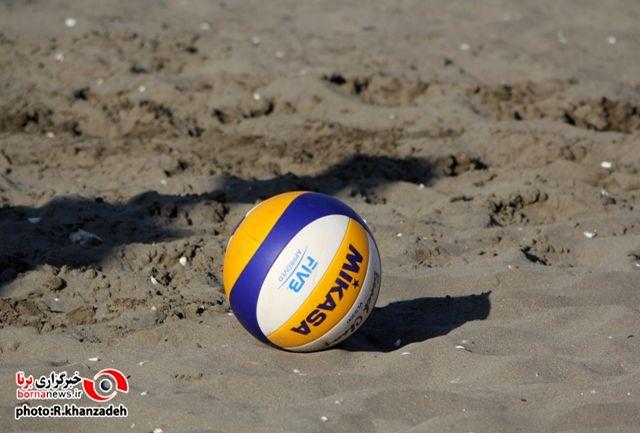 ارومیه نایب قهرمان مسابقات والیبال ساحلی نوجوانان کشور شد