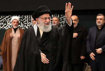 مراسم عزاداری حضرت فاطمه زهرا (سلاماللهعلیها) با حضور رهبر انقلاب
