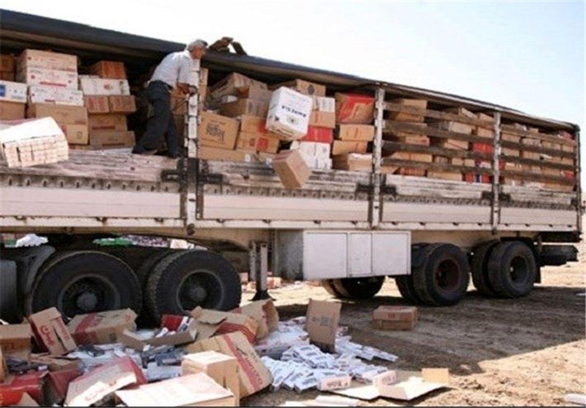 کشف 10 میلیارد ریال کالای قاچاق