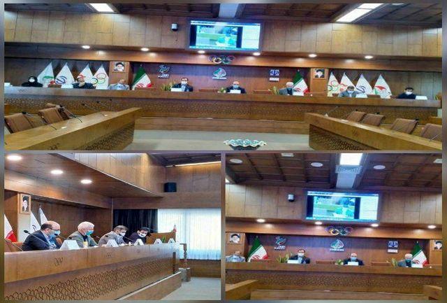 برگزاری مجمع عمومی سالیانه فدراسیون ورزشهای جانبازان و معلولین