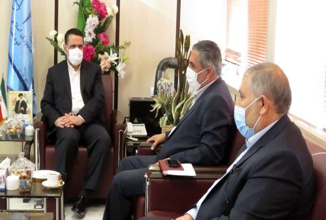 دیدار رییس کل دادگستری آذربایجان غربی و شهردار جدید ارومیه