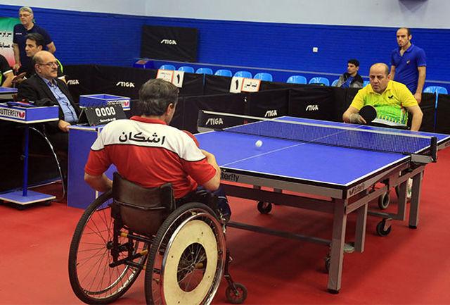 ترکیب نهایی تیم ملی تنیس روی میز جانبازان و معلولین اعلام شد