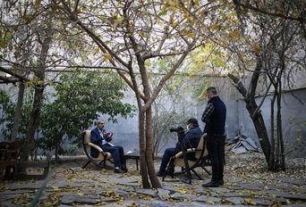 حضور عباس مقتدایی در خبرگزاری برنا