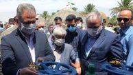 بهره برداری از ۱۳۰۰هکتار از شبکه نوین آبیاری در دلگان