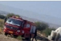 مهار آتش سوزی در منطقه پدل بندرلنگه