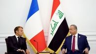 مکرون از برگزاری انتخابات پارلمانی در عراق حمایت کرد