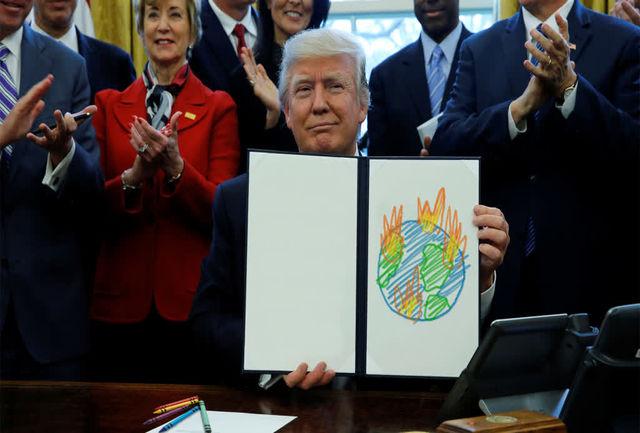 انتشار پژوهش «ابعاد نقض حقوق بین الملل محیط زیست توسط آمریکا در دوره ترامپ»