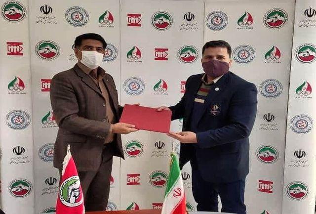 داور و مربی بین المللی ووشو کردستان دبیر کمیته چانگ چوان فدراسیون ووشو شد