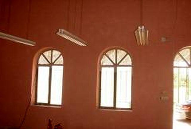 بازسازی حسینیه کوشکنو اردکان با طرحی جدید