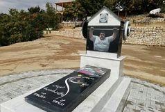 حضور رئیس کمیته ملی پارالمپیک بر سر مزار زندهیاد سیامند رحمان