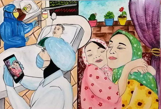 معرفی برگزیدگان مسابقه بینالمللی نقاشی «دستهای پاک»/  گیلانیها خوشدرخشیدند