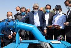 خط آبرسانی از سد ماملو به شهر پیشوا افتتاح شد