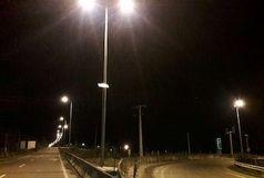 سرقت های مستمر تجهیزات روشنایی محور اسکله رجایی