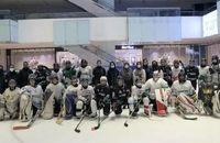 حضور سرپرست فدراسیون در اردوی تیم ملی هاکی روی یخ بانوان