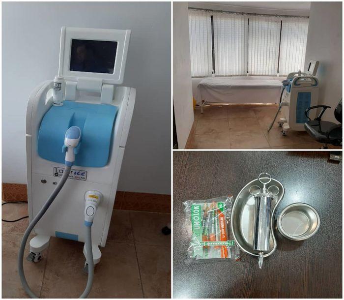 پلمب مرکز غیرمجاز لیزر درمانی در قم