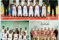 قهرمانی تیم بسکتبال گلستان در مسابقات کشوری