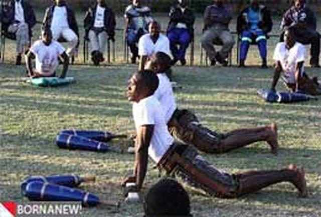 تصاویر:ورزشهای زورخانهای در آفریقا!