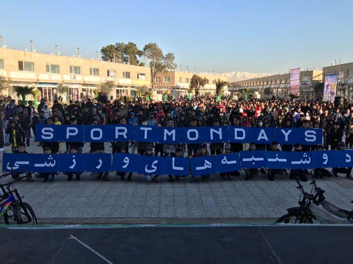 نیم میلیون نفر در پویش دوشنبههای ورزشی پایتخت حضور پیدا کردند