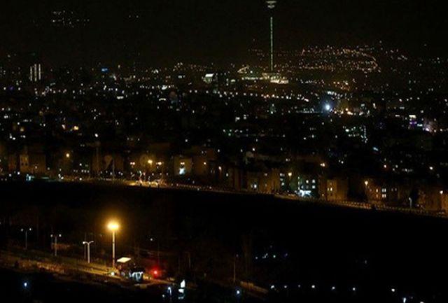 تعدیل روشنایی پایتخت در سه بخش