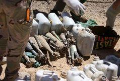 11 بمب کشف و خنثی شد