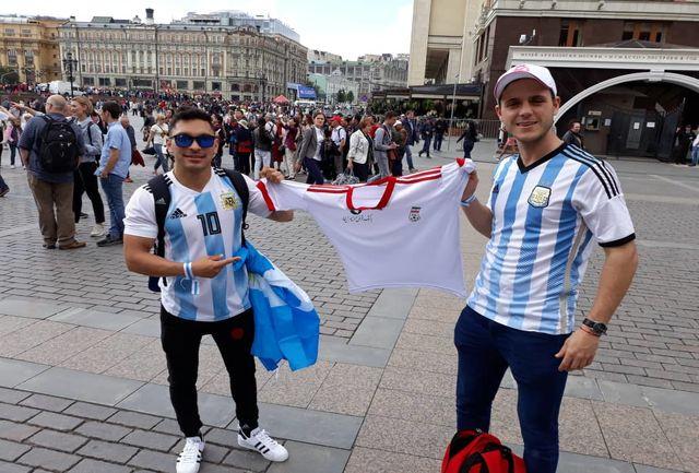 علاقه عجیب آرژانتینیها به تیم ملی ایران