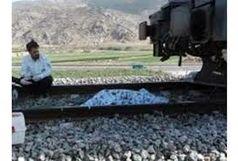 کشته شدن یک زن در اثر برخورد با قطار تهران - مشهد
