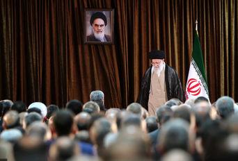 دیدار وزیر و مسئولان وزارت خارجه با رهبر معظم انقلاب